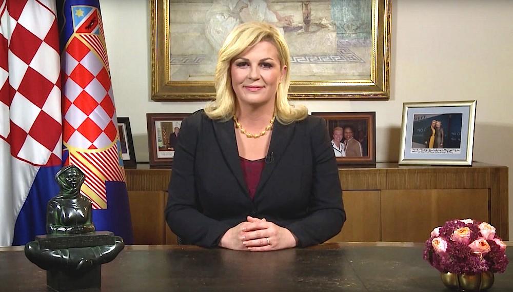 Prasidentin Grabar Kitarovic Eroffnet Ring Fur Den Wahlkampf Parlamentswahlen In Kroatien Schon Am  November