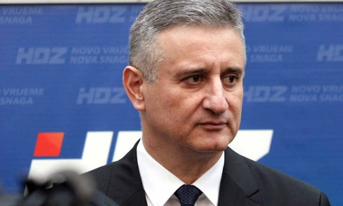 HDZ-Chef Tomislav Karamarko