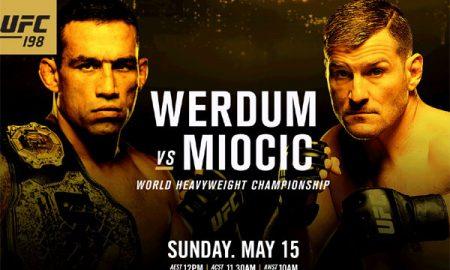 Der Kroate Stipe Miocic ist neuer UFC-Weltmeister im Schwergewicht