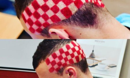 Der kroatische Fußballnationalspieler und neue Superstar der Kroaten und der EM hat sich für Ronaldo und Portugal nochmal richtig hübsch gemacht und seine Haare EM-gerecht gestylt.