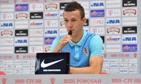 Der in Inter Mailand spielende kroatische Fußballer Ivan Perišić gehört zu den wichtigsten Spielern von Nationaltrainer Ante Čačić