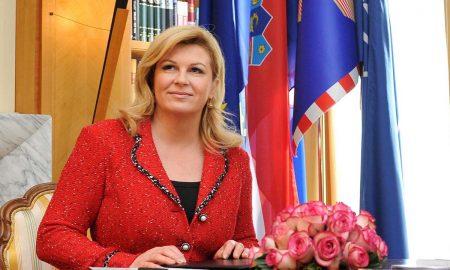 Die kroatische Präsidentin Kolinda Grabar Kitarovic