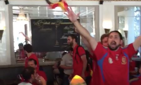 """Morena De Mi Corazon"" Kroate Spanier EM 2016"