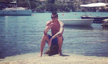 Mario Mandzukic urlaubt auf der kroatischen Insel Brac