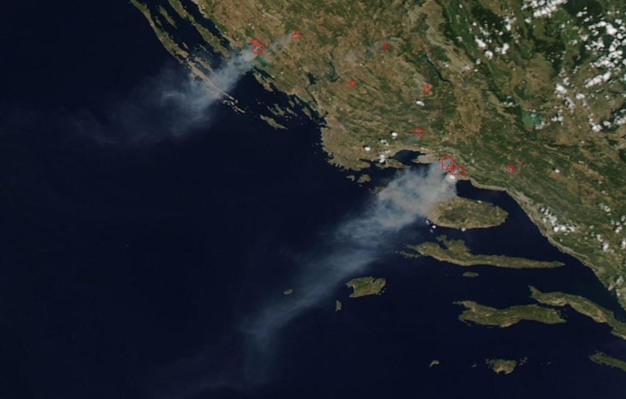 Kroatien Brände Aktuell