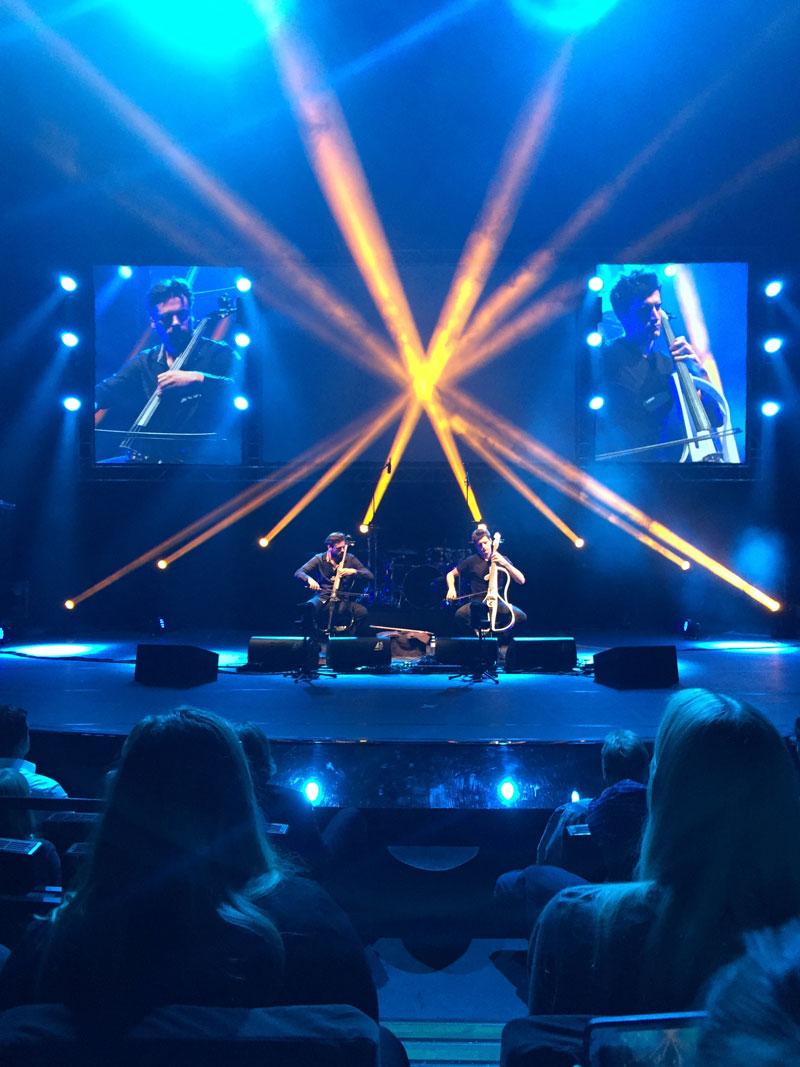 2Cellos - Konzertauftritt in Berlin