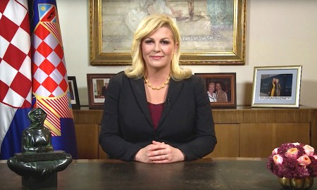 Die kroatische Präsidentin Kolinda Grabar-Kitarovic
