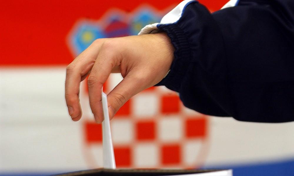 Parlamentswahlen in Kroatien 2015. 3,8 Millionen Kroaten geben heute ihre Stimme ab.