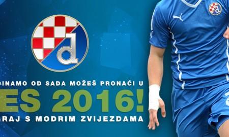Der kroatische Fußball-Klub GNK DInamo Zagreb wird Teil der erfolgreichen Spieleserie Pro Evolution Soccer 2016