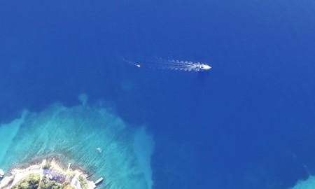 Die Insel Šolta in Kroatien gehört zu den Top Urlaubs-Zielen in Kroatien. Die Drohneuaufnahmen mit einer DJI Phantom III Professional sind beeindrucken.