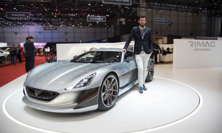 Das in Kroatien hergestellte schnellste Elektroauto der Welt, der Rimac Concept_S