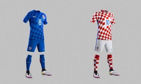 Nike hat die neuen Trikots der kroatischen Fußball-Nationalmannschaft vorgestellt. Wieder diente das Schachmuster des kroatischen Wappens als zentrales Design-Element. Die groß-weißen Quadrate sind seit über 500 Jahren das nationale Symbol der Kroaten und repräsentieren Frieden, Mut und Kraft.