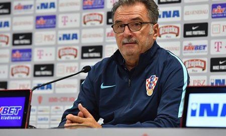 Kroatiens Nationaltrainer der Fußballnationalmannschaft Ante Čačić