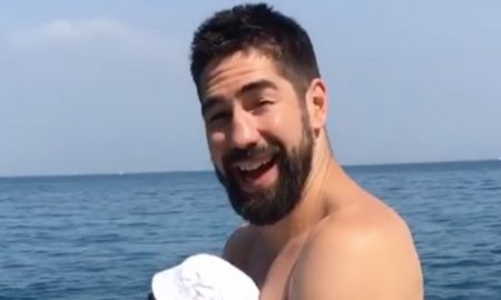 Handball-Star Nikola Karabatic urlaubt in Kroatien