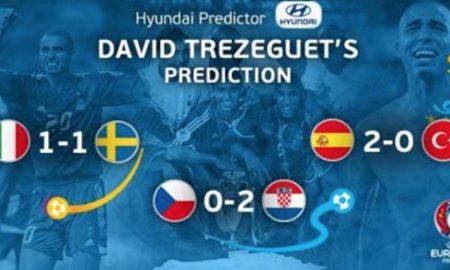 David Trezeguet sieht Kroatien als deutlichen Favoriten gegen Tschechien und tippt auf ein 2:0 für Kroatien.