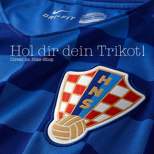 Das Trikot der kroatischen Fußballnationalmannschaft zur EM 2016